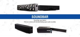 SMATE Soundbar with Breathtaking space audio soundbar